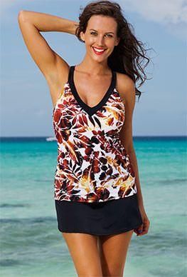 Tankini Swimwear and Bathing Suits - swimsuitsforall