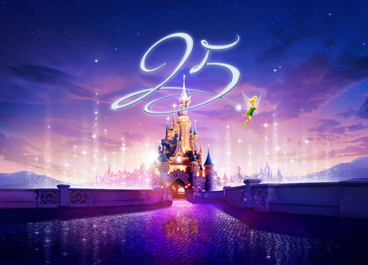 Disneyland Paris 25th Anniversary Details Revealed