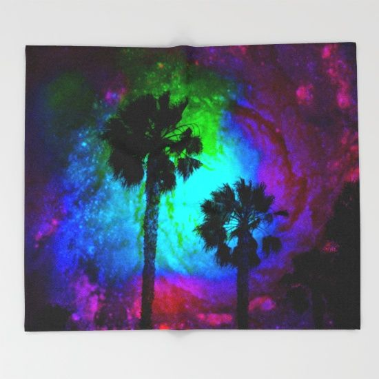 Our seriously soft throw blankets are available in three sizes and feature vividly colored artwork on one side. Made of 100% polyester…