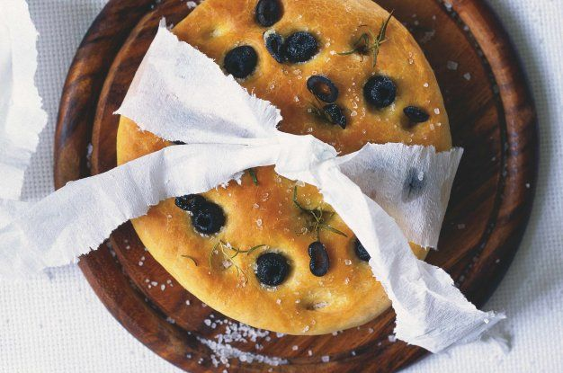 Italský chléb focaccia   Apetitonline.cz