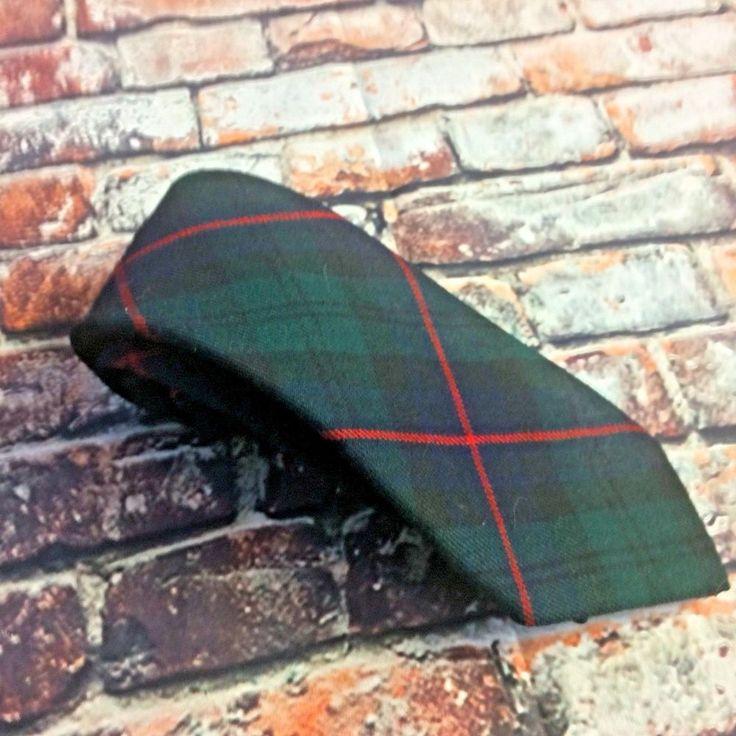 The Scotch House Men's Tartan Tie Armstrong Clan Classic Length Scotland wool  | eBay