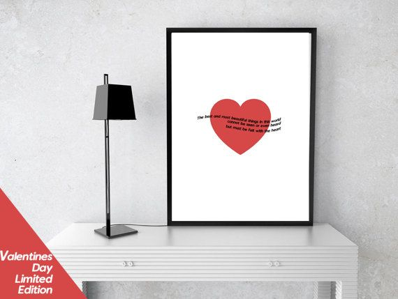 Printable Wall Art Prints Instant Download Printable by SimpleDeco Valentines Day, Love, Minimalist, Quote