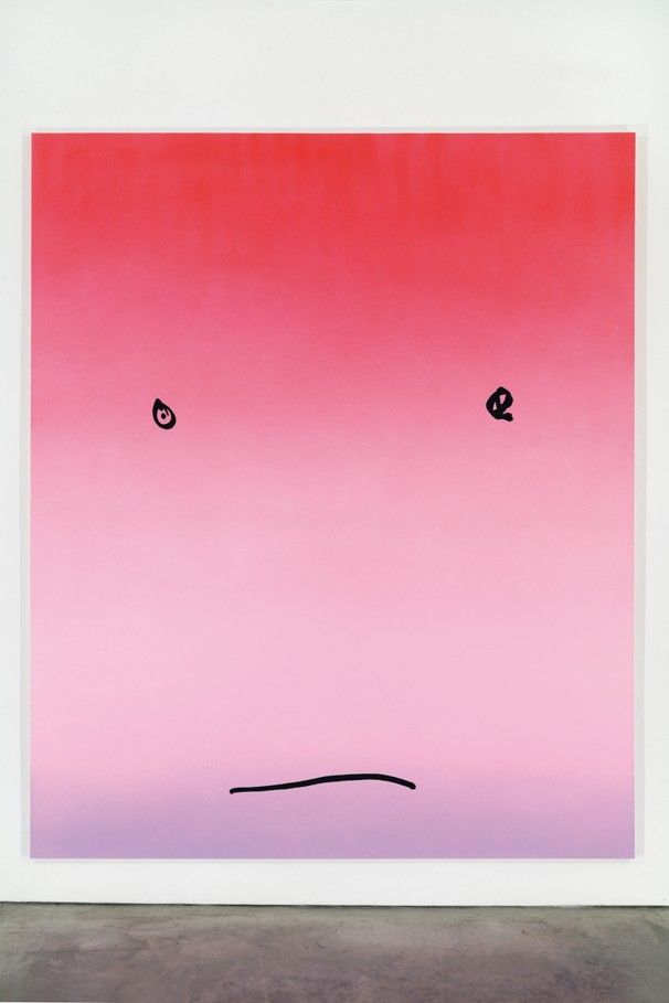 Rob Pruitt's Smiley Faces at the de la Cruz Collection make me swoon. I could sit with them all day.