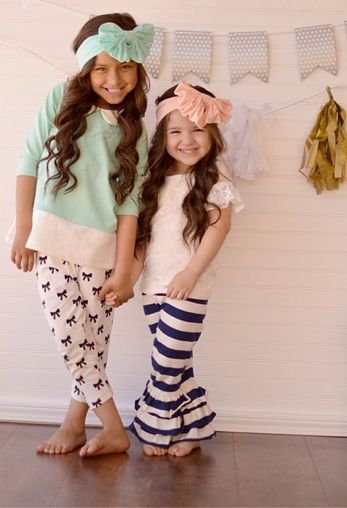 Adorable little girl clothes on their site!!