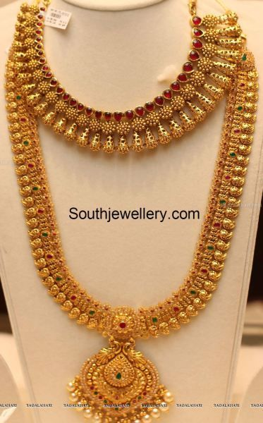 south indian temple jewellery - Google Search: