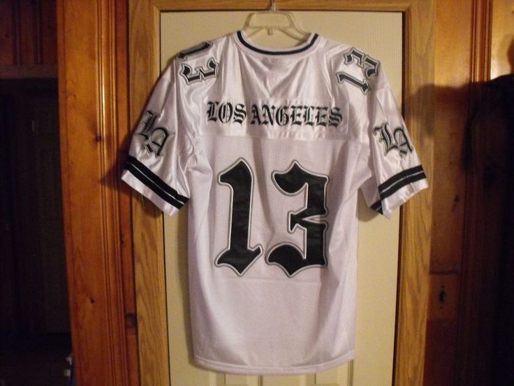 White LOS ANGELES 13 LOW RIDER, SURENO, CHOLO, CHICANO, SOUTH SIDE  JERSEY #Victorious #SurenoJersey