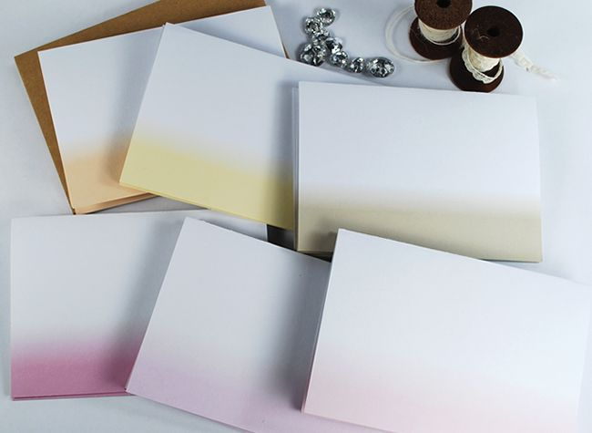 Printable Dip-Dye Papers. From The Colour Collection.