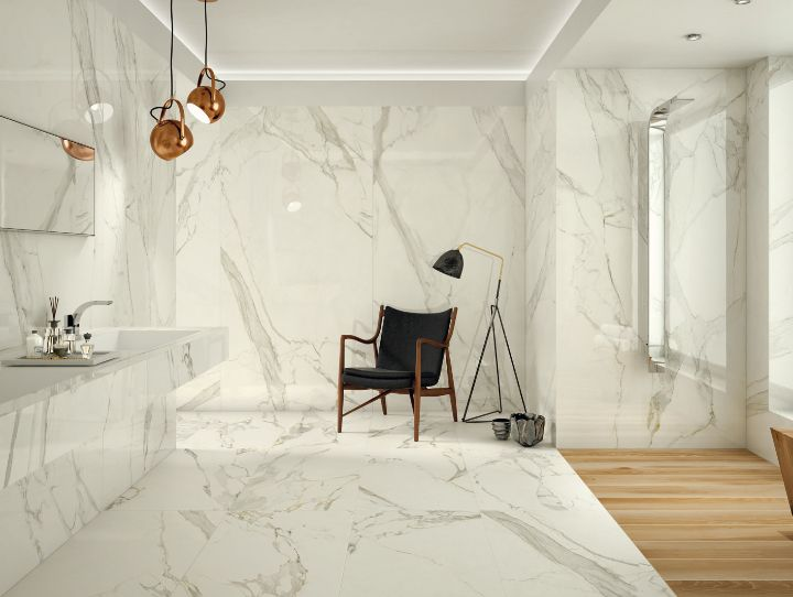 Large size porcelain tiles up to 120x240 cm by Ceramiche Caesar