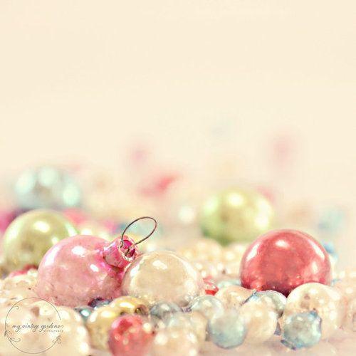 vintage Christmas balls di myvintagegardens