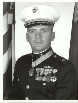 Marine Medals | Valor awards for Col (then (Maj) Robert Joseph Modrzejewski (1934 - ) USMC. Medal of Honor for conspicuous gallantry and intrepidity at the risk of his life above and beyond the call of duty, in action against enemy forces in the Republic of Vietnam, on 15 July 1966. His unparalleled personal heroism and indomitable leadership inspired his men to a significant victory over the enemy force....Read more.