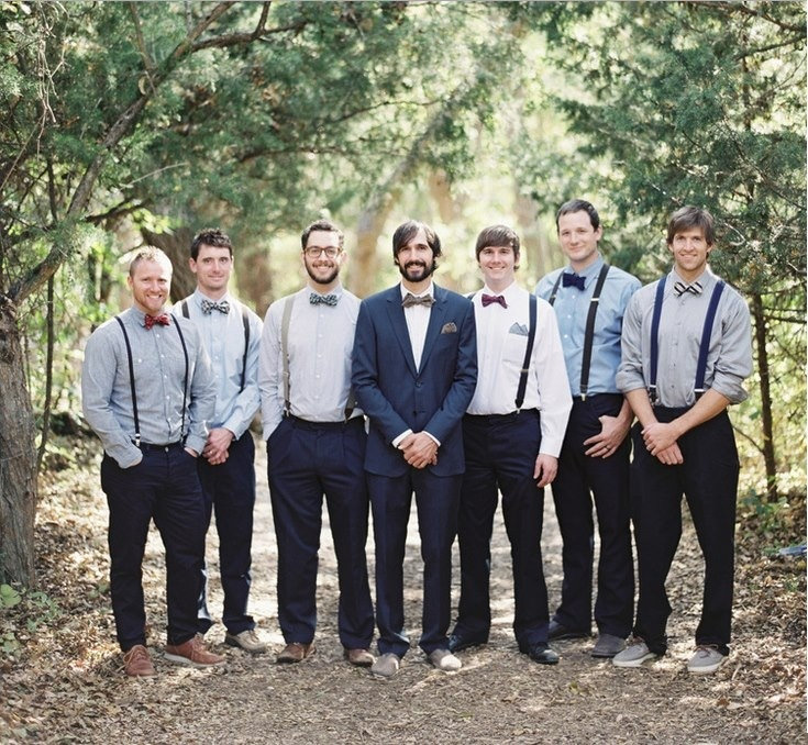 I M Still More Into The Guys Wearing Jeans And Blazers Than Suspenders Bow Ties Wedding Ideas Pinterest Weddings