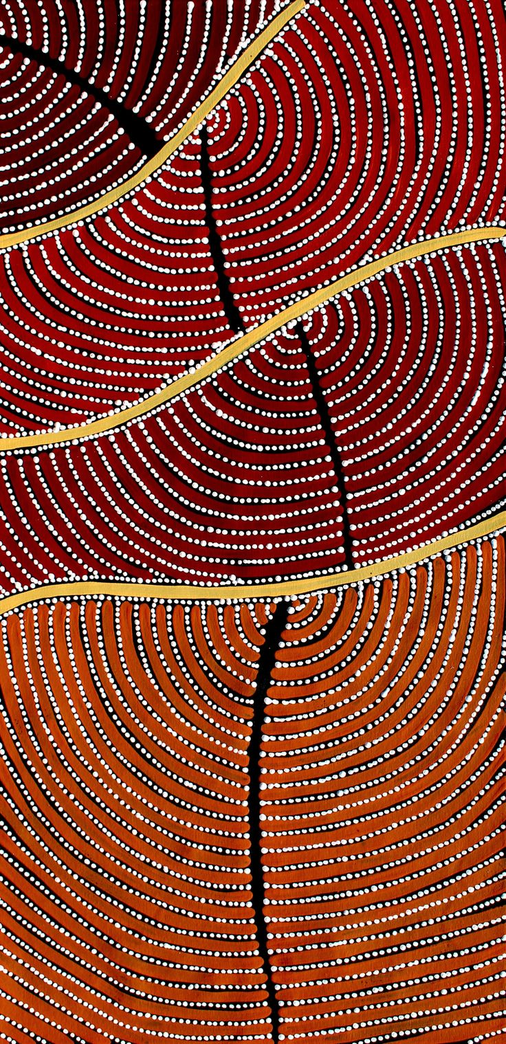Aboriginal Artwork by Adam Reid Sold through Coolabah Art on eBay. Catalogue ID 16142