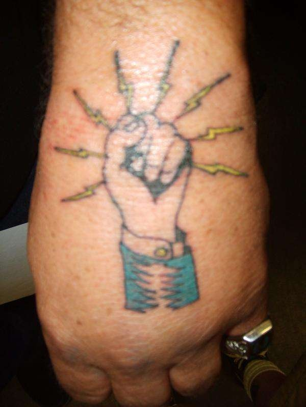 17 best images about electrician tattoos on pinterest for Electrical tattoos ideas