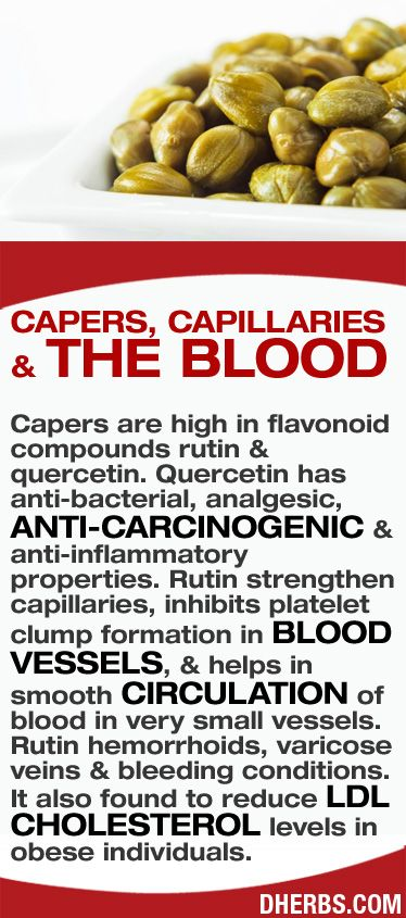 Capers are high in flavonoid compounds rutin & quercetin. Quercetin has anti-bacterial, analgesic, anti-carcinogenic & anti-inflammatory properties. Rutin strengthen capillaries, inhibits platelet clump formation in blood vessels, & helps in smooth circulation of blood in very small vessels. Rutin hemorrhoids, varicose veins & bleeding conditions. It also found to reduce LDL cholesterol levels in obese individuals. #dherbs #healthtips