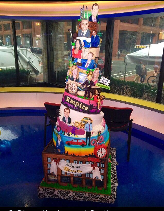 Fox 29/ 20 th birthday cake