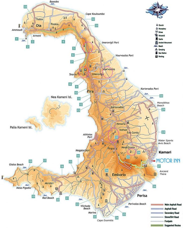 As an extra service to our clients, we have created this unique map of the island. It shows correctly the morphology of the land, with all the ancient trails and the water erosion channels.