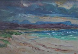 White Sands, Wester Ross by Scottish Artist James Watt RGI www.limetreegallery.com
