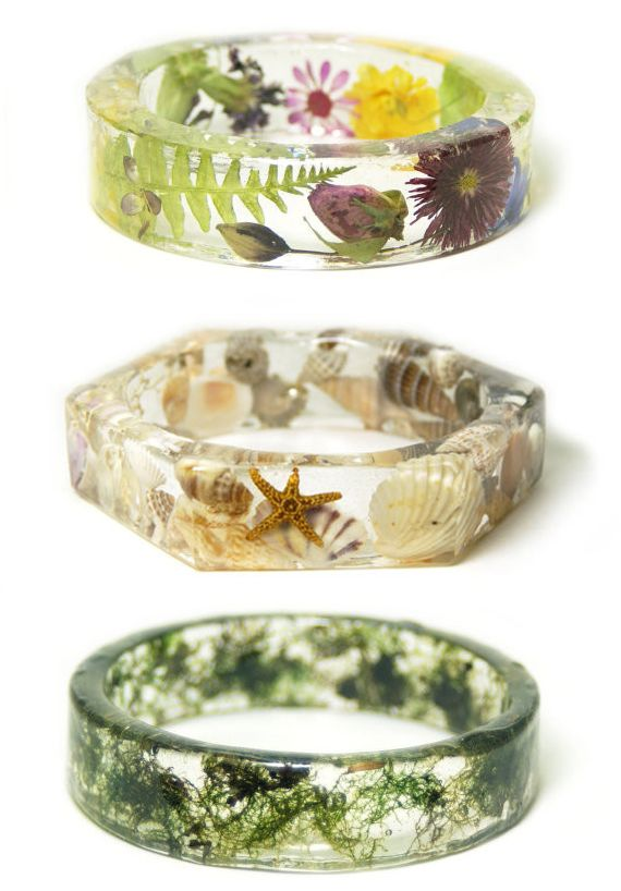 faeriemag: flower, moss, and seashell jewelry athttp://www.faeriemag.com/collections/jewelry