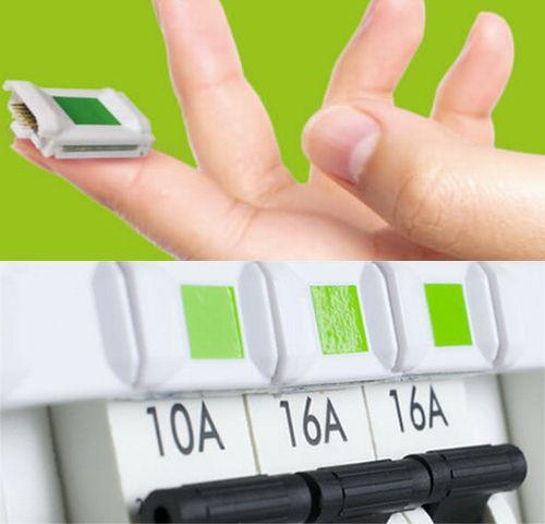 GreenStik se colle sur les disjoncteurs électriques