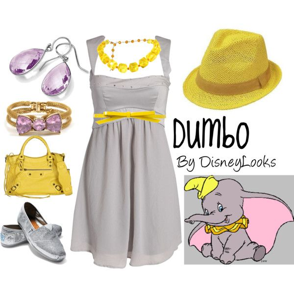 I'm loving Disney inspired fashion!: Disney Style, Disney Inspired Outfits, Stephanie Trougakos, Disney Clothes, Dumbo Outfit, Close Trougakos, Heaven Sakes, Disney Characters
