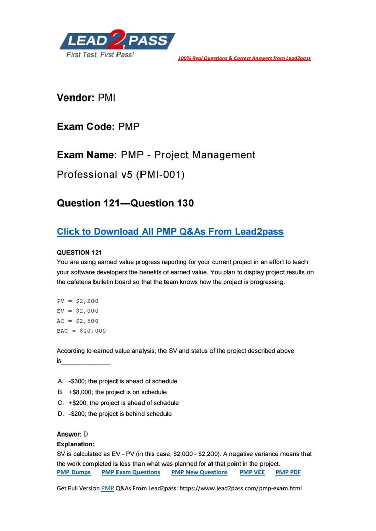 LeadPass Pmp Dumps Pdf Free Download   Pdf And Free