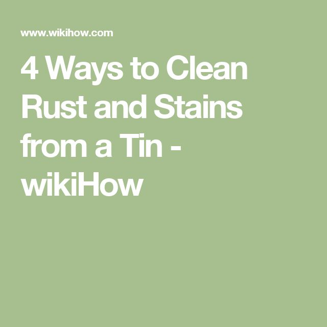 Best 25 Clean Rust Ideas On Pinterest Stains Diy