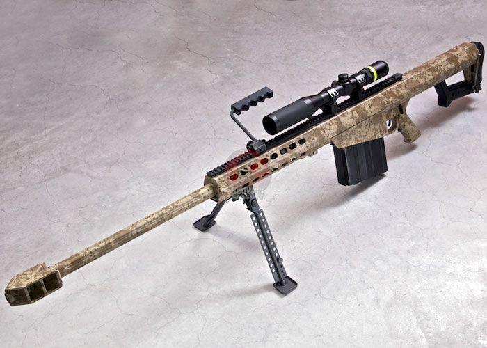 RWC Barrett M82A1 Ver.2 Digital Desert