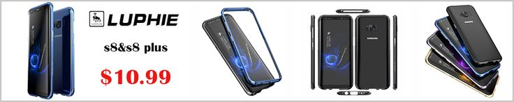 R-just aluminum phone case for samsung galaxy s8/s8 plus armor case for samsung s8 g9500/s8 metal case phone shell cover