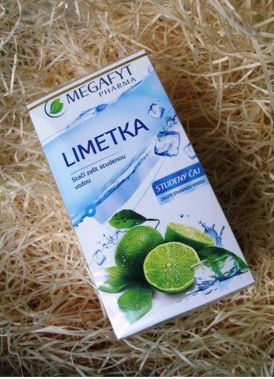 Megafyt Studený čaj s příchutí Limetka