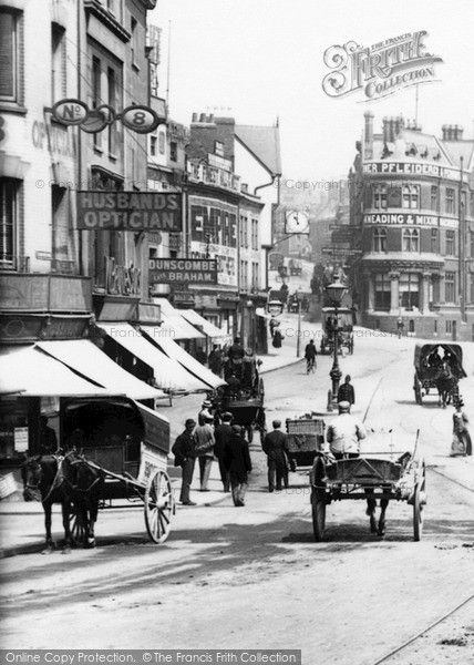 Bristol, The City Centre 1900, from Francis Frith