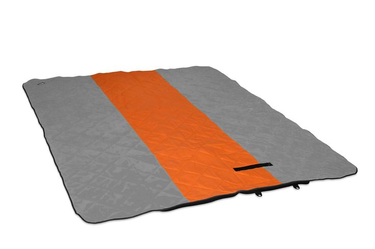 ENO Eagles Nest Outfitters - LaunchPad Double Blanket, Orange/Grey. COMFORTABLE & PRACTICAL - The LaunchPad is topped with a layer of cushy fleece to keep you warm, but armored with a coated, ripstop nylon underneath to keep you dry. TRAVEL-READY - The LaunchPad conveniently folds and zips into itself when not in use. When your picnic, concert or day at the beach is over, just zip it up and sling it over your shoulder. HIDDEN CORNER STASH POCKET - The LaunchPad includes a hidden corner…