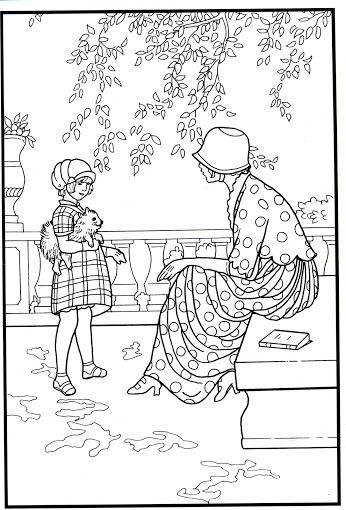 Saturday Evening Post Norman Rockwell Coloring Pages