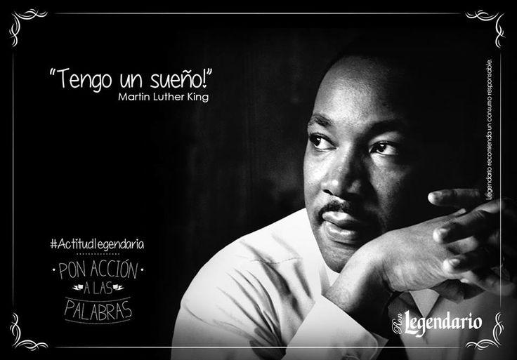 Frase: Tengo un sueño, Martin Luther King
