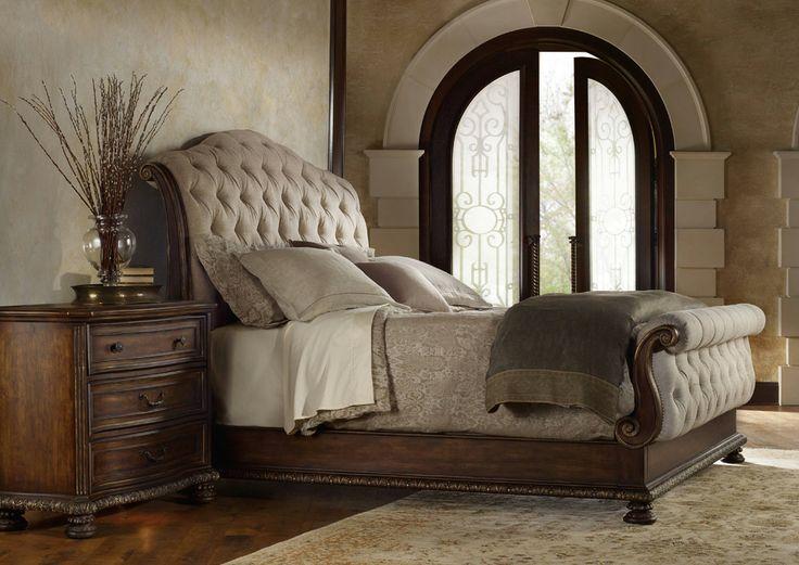 Hooker furniture adagio tufted bed 3 piece bedroom set lowest price online on all hooker furniture adagio tufted bed 3 piece bedroom set