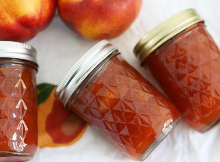 Ginger Cardamon Nectarine Jam