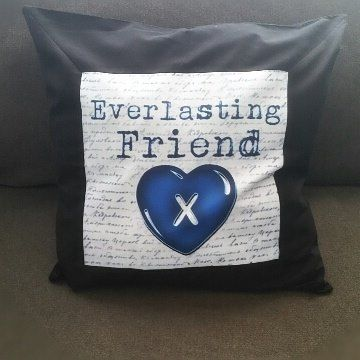 "The+perfect+gift+for+the+BLUE+OCTOBER+fan+in+your+life.+  -+Blue+Family+Inspired+throw+pillow+case+ *+this+pillow+CASE+-+DOES+NOT+come+with+an+insert+ *+It+measures+about+18""+x+18"