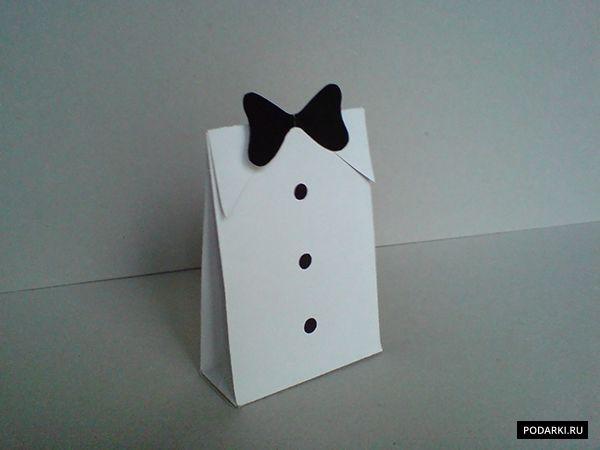 Упаковка подарка для мужчины I Коробочка с галстуком