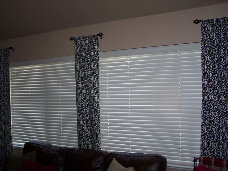 how to make your own curtain rod
