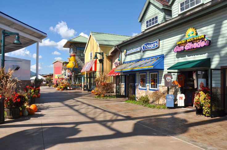 So many great shops at the Island in Pigeon Forge