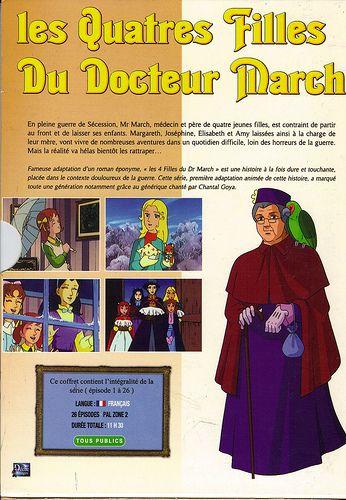 Les Quatre Filles Du Docteur March - Coffret Verso