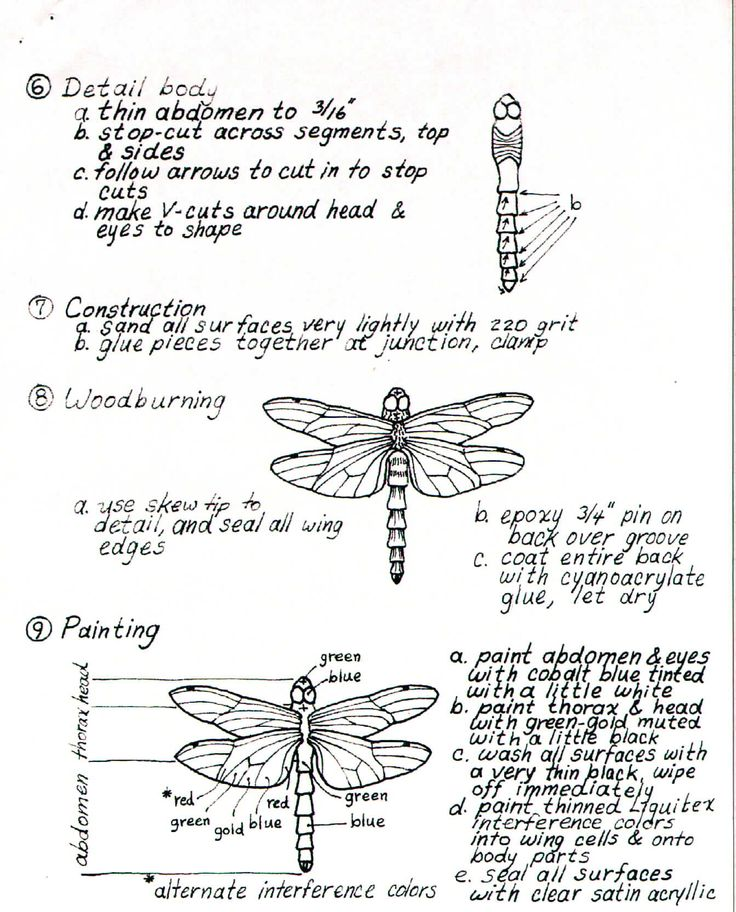 bead embroidery template   FREE DRAGONFLY PATTERNS   Browse Patterns
