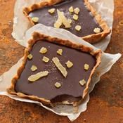 Tartelettes choco-gingembre - une recette Tarte sucrée - Cuisine