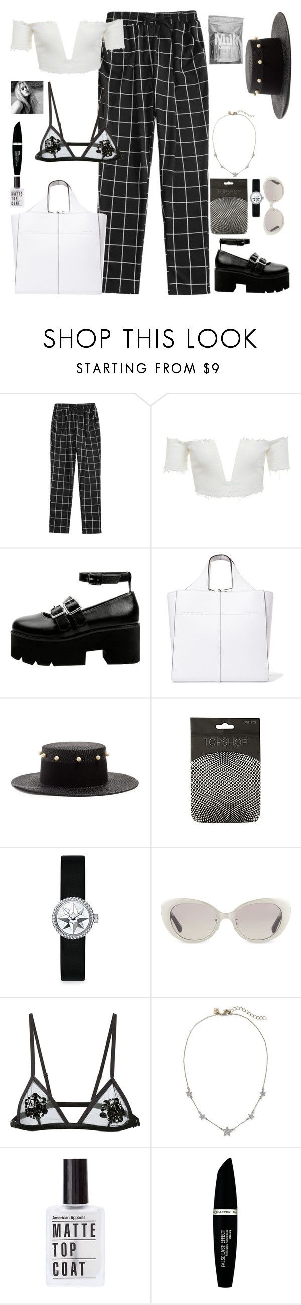 """""""Visit Riviera"""" by gb041112 ❤ liked on Polyvore featuring Victoria Beckham, Federica Moretti, Christian Dior, Linda Farrow, Fleur du Mal, Max Factor and MILK MAKEUP"""
