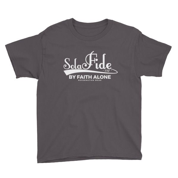 Sola Fide Boy's Christian T-Shirt