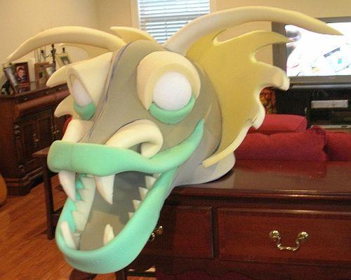 shrek dragon out of foam - Google Search