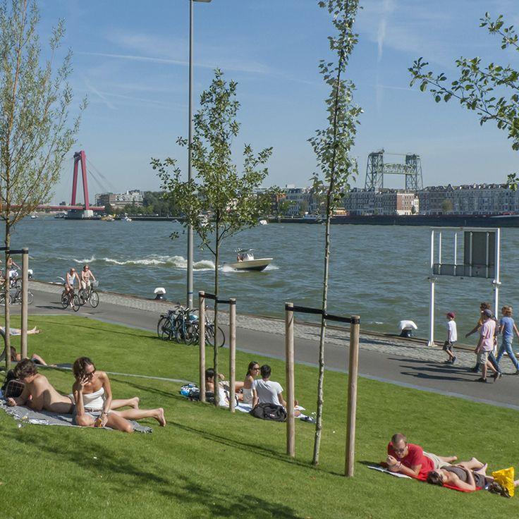 Boompjes Promenade | Rotterdam | The Neteherlands Photo: Peter Schmid