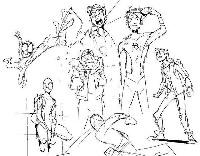 """Marvel's Spider-Man by Grace Liu """"YAAAAAAAY SPIDERMAN TRAILER YAAAAAAAAAAAY #spidermanhomecoming"""""""