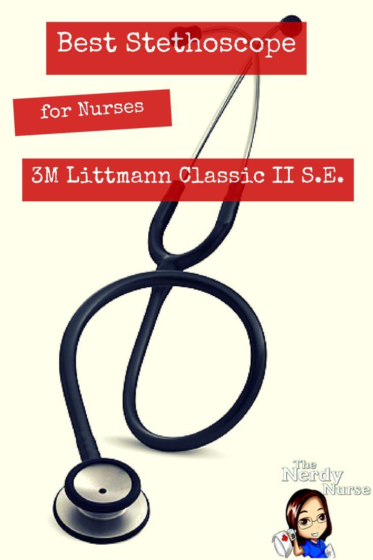 Best Stethoscope for Nurses: 3M Littmann Classic II S.E. Stethoscope