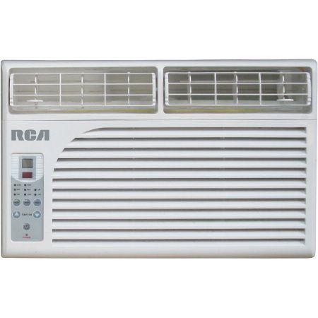 6000 BTU Window Air Conditioner Electronic Controls, Multicolor