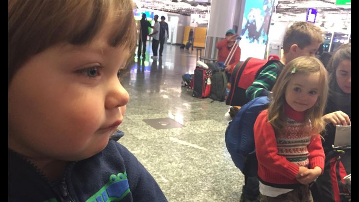 My nephew gettin' mired at the airport
